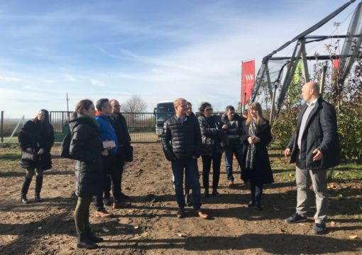 Delegates of Fruitnet Forum South East Europe visited our orchard