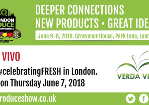 We will celebrate fresh at Londone Produce Show