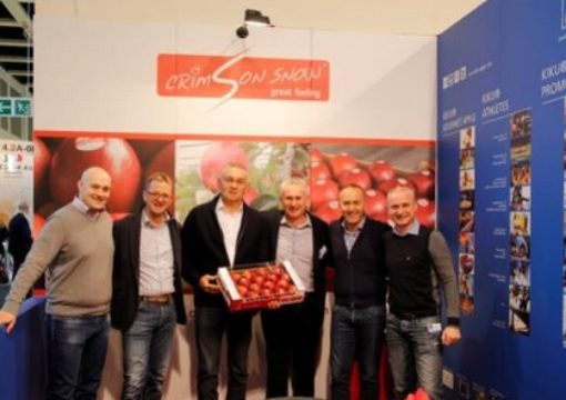 Verda Vivo at Crimson Snow Annual Licensee Meeting at Fruitlogistica 2015