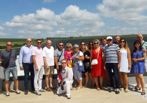 apple growers from Poland visited our orchard